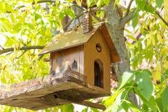 wooden Birdhouse stock photography