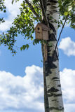 Birdhouse - home for birds Stock Photo
