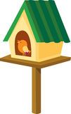 Birdhouse illustration Royalty Free Stock Image