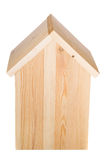 Birdhouse isolated. Back elevation Stock Photo