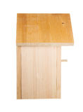 Birdhouse isolated. Side view Stock Photo