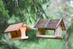 Birdhouse. In the mountain of north Italy Royalty Free Stock Photography