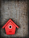 The birdhouse Royalty Free Stock Photos