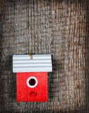 The birdhouse Royalty Free Stock Photo