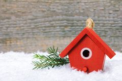 The birdhouse Stock Photography