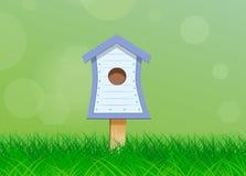 Birdhouse per gli uccelli Fotografie Stock