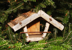 Birdhouse in the tree Stock Image