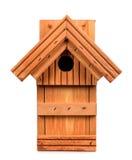 Birdhouse on a white background Royalty Free Stock Photo
