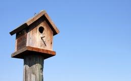 birdhouse wodden Стоковые Фотографии RF