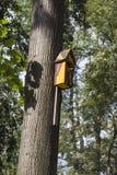 Birdhouse in the Yard Stock Photos