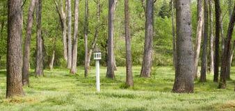 birdhousegård Arkivfoto