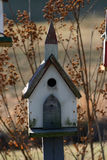 Birdhousekirche Stockfoto
