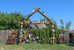 Birdhouses, дома для птиц Стоковое Фото