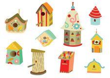 Birdhouses Stock Photo