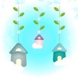 Birdhouses royalty ilustracja