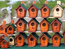 birdhouses Fotografía de archivo