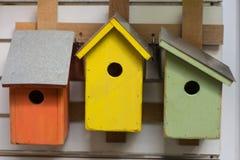 Birdhouses Royalty Free Stock Photography