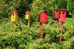 Birdhouses Royalty Free Stock Image