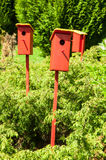 Birdhouses Stock Photography