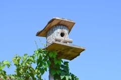 Birdhouses, houses for birds Royalty Free Stock Photo