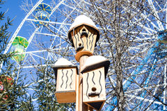 Birdhouses Stock Image