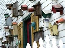 Birdhouses (liggande) Royaltyfria Foton