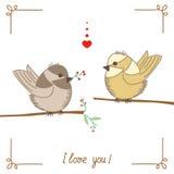 birdie ilustração royalty free