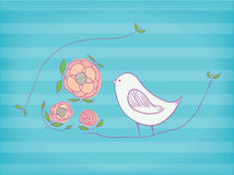 birdie ilustração do vetor