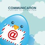 Birdie design Stock Photo