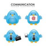 Birdie design Stock Image