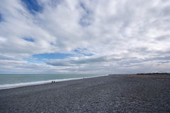Birdlings flat, new zealand, south island beach Royalty Free Stock Images