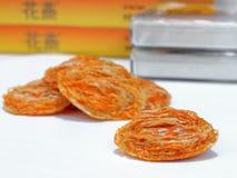 Birdnest la minestra - ingrediente Fotografie Stock Libere da Diritti