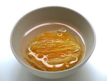 birdnest składnikiem zupy obraz royalty free