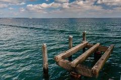 Birdplace en el mar Foto de archivo libre de regalías