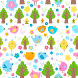 Birds background Royalty Free Stock Photography