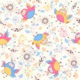 Birds background Stock Photography