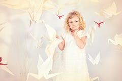 Among birds Royalty Free Stock Photography