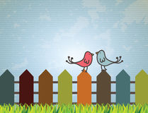 Birds design Stock Image