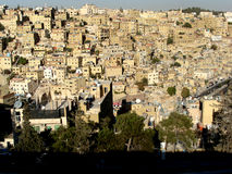 Birds eye view of Amman, Jordan Stock Image