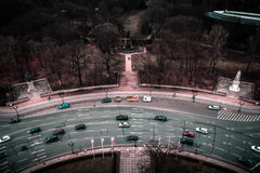 Birds Eye View, Berlin Stock Photo