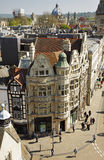 Birds Eye view of the City of Oxford in England Stock Photography