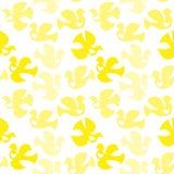 Birds Hearts Background Seamless Royalty Free Stock Photo