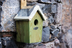 Birds House Stock Image