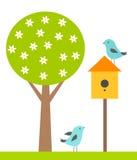 Birds house Royalty Free Stock Photo