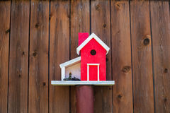 A birds house Royalty Free Stock Image