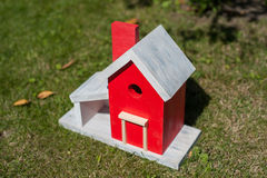 A birds house Royalty Free Stock Images