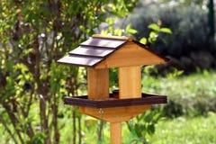Birds house trough Royalty Free Stock Photos
