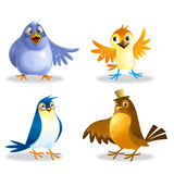 Birds icon Royalty Free Stock Photography
