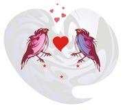 Birds love Royalty Free Stock Image