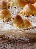 Birds made of dough Royalty Free Stock Image